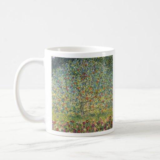 Manzano De Gustavo Klimt Tazas De Café