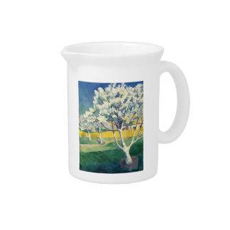 Manzano En flor de Kazimir Malevich Jarras De Beber