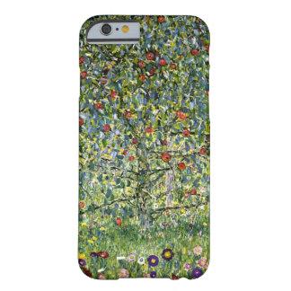 Manzano Por el vintage de Gustavo Klimt Funda De iPhone 6 Barely There