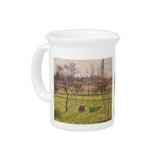 Manzanos de Camilo Pissarro- En un campo Jarras Para Bebida