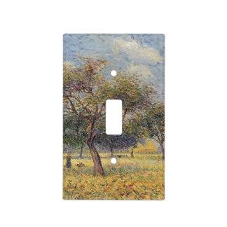Manzanos de Gustavo Loiseau- En octubre Placa Para Interruptor
