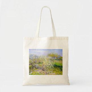 Manzanos En la floración, Claude Monet 1873 Bolsa De Mano