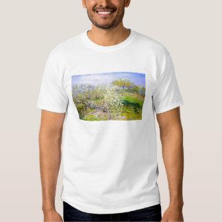 Manzanos En la floración, Claude Monet 1873 Camisas