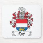 Manzi Family Crest Mouse Pad