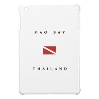 Mao Bay Thailand Scuba Dive Flag iPad Mini Cases