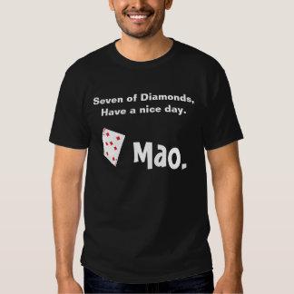Mao card game t shirt