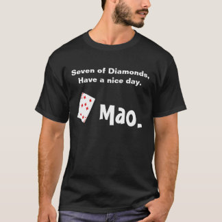 Mao card game T-Shirt