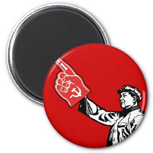 Mao - Communism is #1 Fridge Magnets