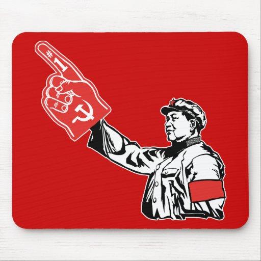 Mao - Communism is #1 Mouse Mat