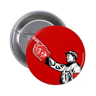Mao - Communism is #1 Pinback Button