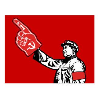 Mao - Communism is #1 Postcard