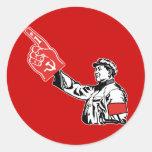 Mao - Communism is #1 Sticker