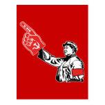 Mao - el comunismo es #1 postales