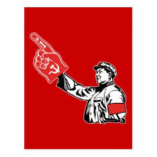 Mao - el comunismo es 1 postales