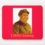 mao, LMAO Zedong Mouse Pad