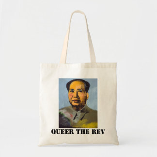 Mao Queer the Revolution Tote Bag