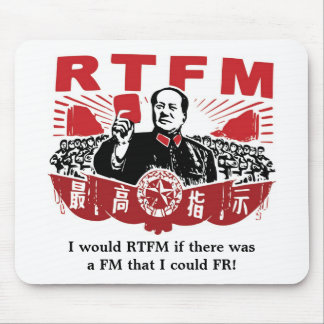 Mao RTFM Mousepad