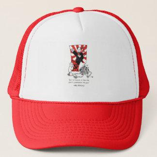 "Mao trucker cap - ""The Party commands the gun"""