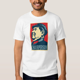Mao Tse-Tung - Chairperson: OHP T-Shirt