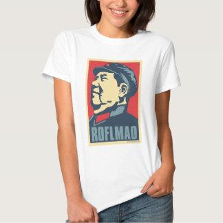Mao Tse-Tung - ROFLMAO: OHP Ladies Top Tee Shirt