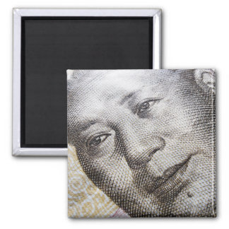 Mao Zedong (2) 2 Inch Square Magnet