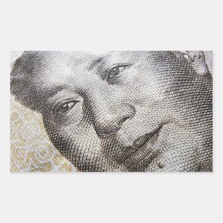 Mao Zedong (2) Rectangular Sticker