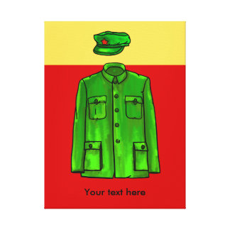 Mao Zedong Chairman Mao Coat Canvas Print