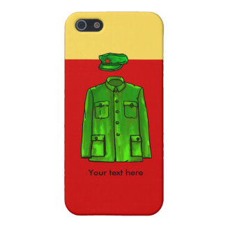 Mao Zedong Chairman Mao Coat Case For iPhone SE/5/5s