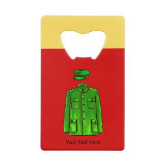 Mao Zedong Chairman Mao Coat Credit Card Bottle Opener