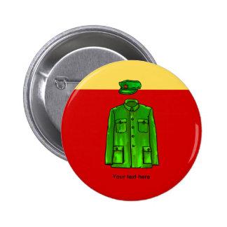 Mao Zedong Chairman Mao Coat Pinback Button