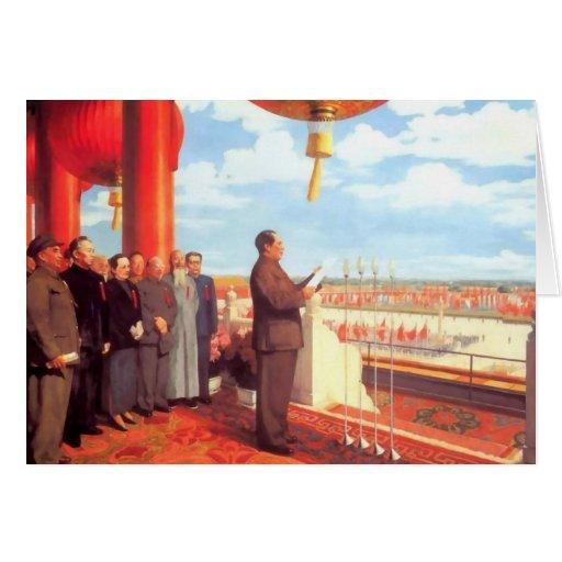 Mao Zedong Felicitacion