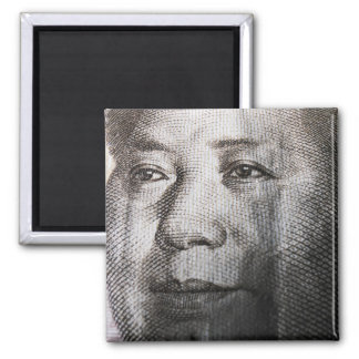 Mao Zedong 2 Inch Square Magnet