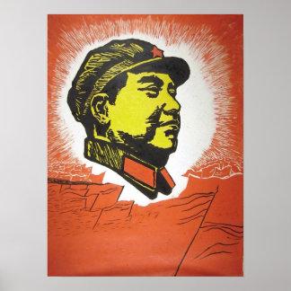 Mao Zedong Póster
