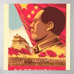 Mao Zedong - poster de la revolución de la cultura