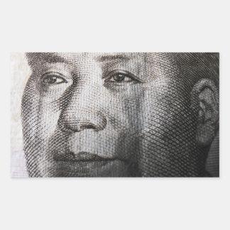 Mao Zedong Rectangular Sticker