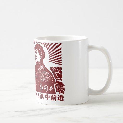 Mao Zedong Taza Básica Blanca