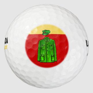 Mao Zedong Zhongshan suit Golf Balls