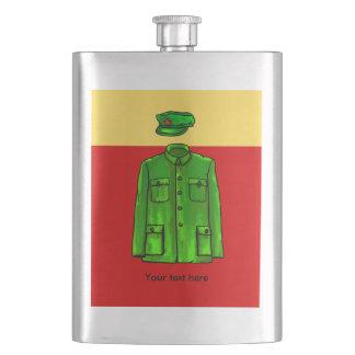 Mao Zedong Zhongshan suit Hip Flask