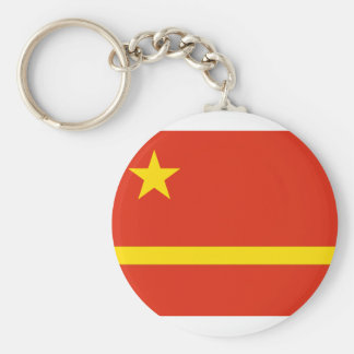 Mao Zedong'S Proposal For The Prc flag Key Chains