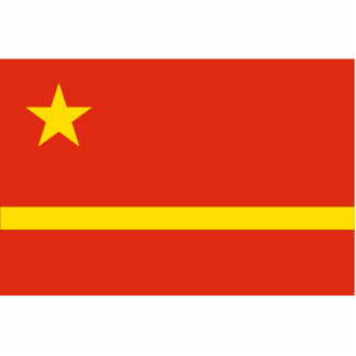 Mao Zedong'S Proposal For The Prc flag Cut Outs