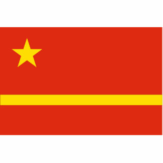 Mao Zedong'S Proposal For The Prc flag Acrylic Cut Out