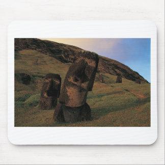 Maoi statues Rapa Nui (Easter Island). Mouse Pad