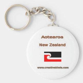 Maori, Aotearoa Key Chain