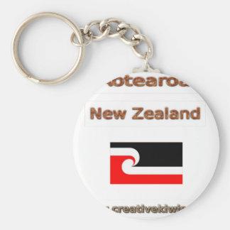 Maorí, Aotearoa Llavero Redondo Tipo Pin