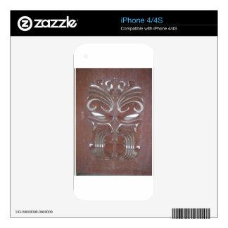 maori aotearoa new zealand decal for iPhone 4S