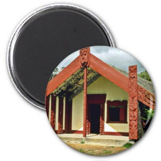 Maori Arts And Crafts Institute, Rotorua 2 Inch Round Magnet