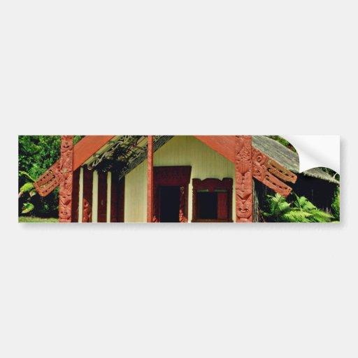 Maori Arts And Crafts Institute, Rotorua Bumper Sticker