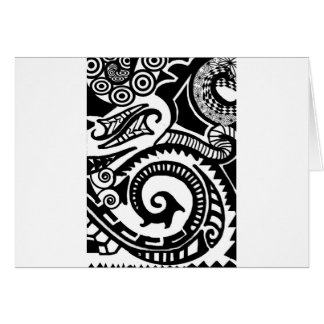 maori card