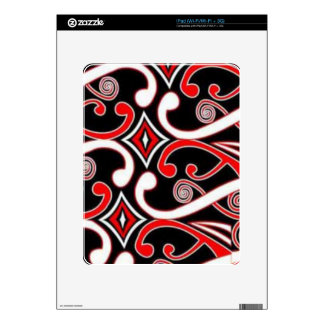 maori designs decal for the iPad