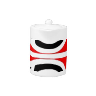 maori designs tribal art for you teapot
